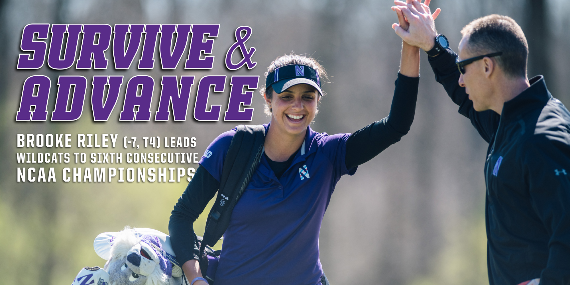 Riley Leads Wildcats To Sixth Straight NCAA Championships